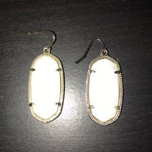 Kendra Scott Elle Earrings in White